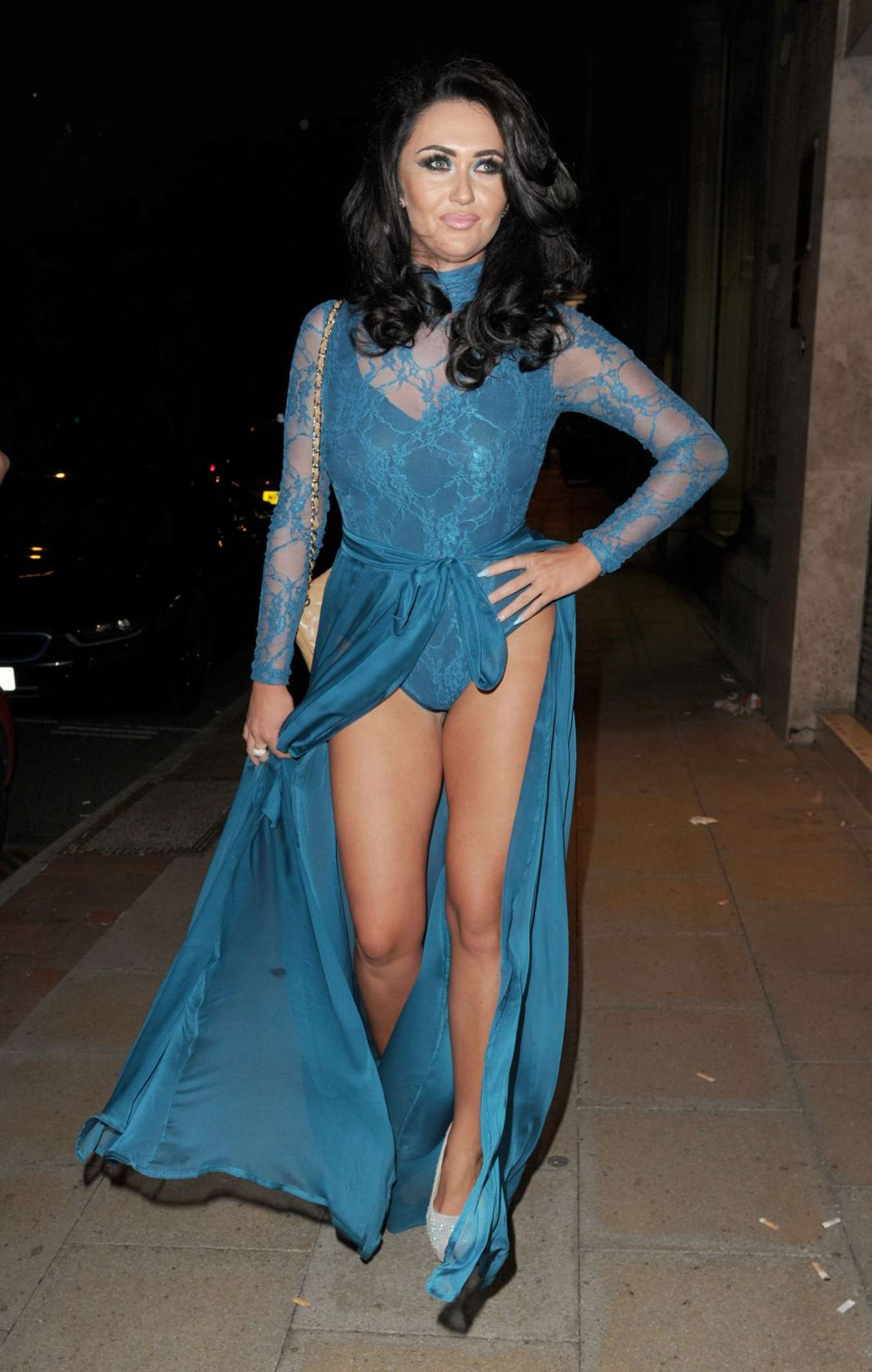 Charlotte Dawson Blue Hues Summer Evening Of Style In