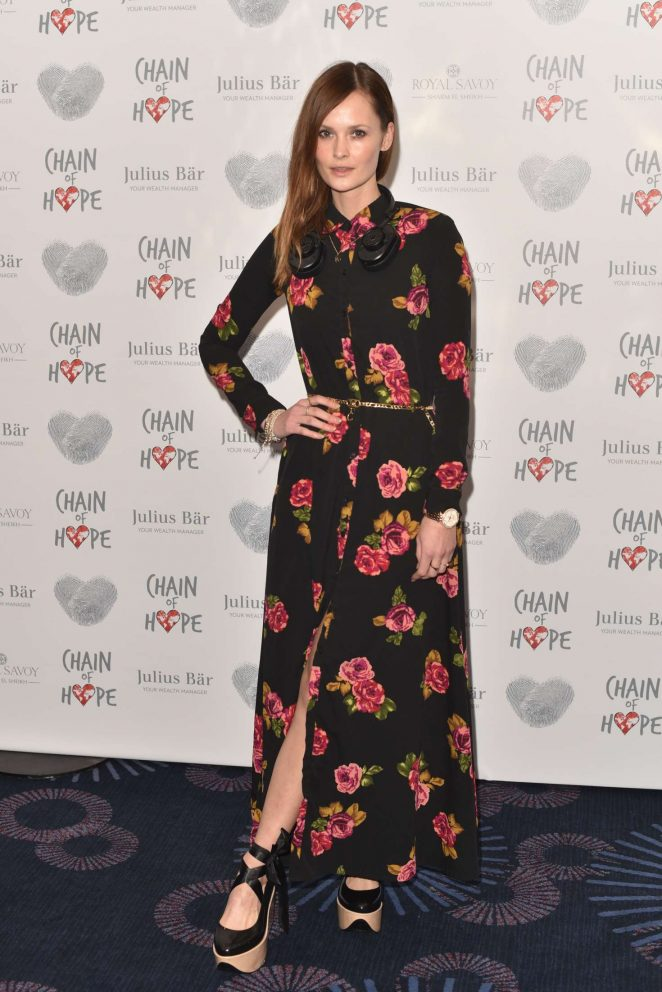 Charlotte de Carle - Chain Of Hope Annual Gala Ball 2016 in London
