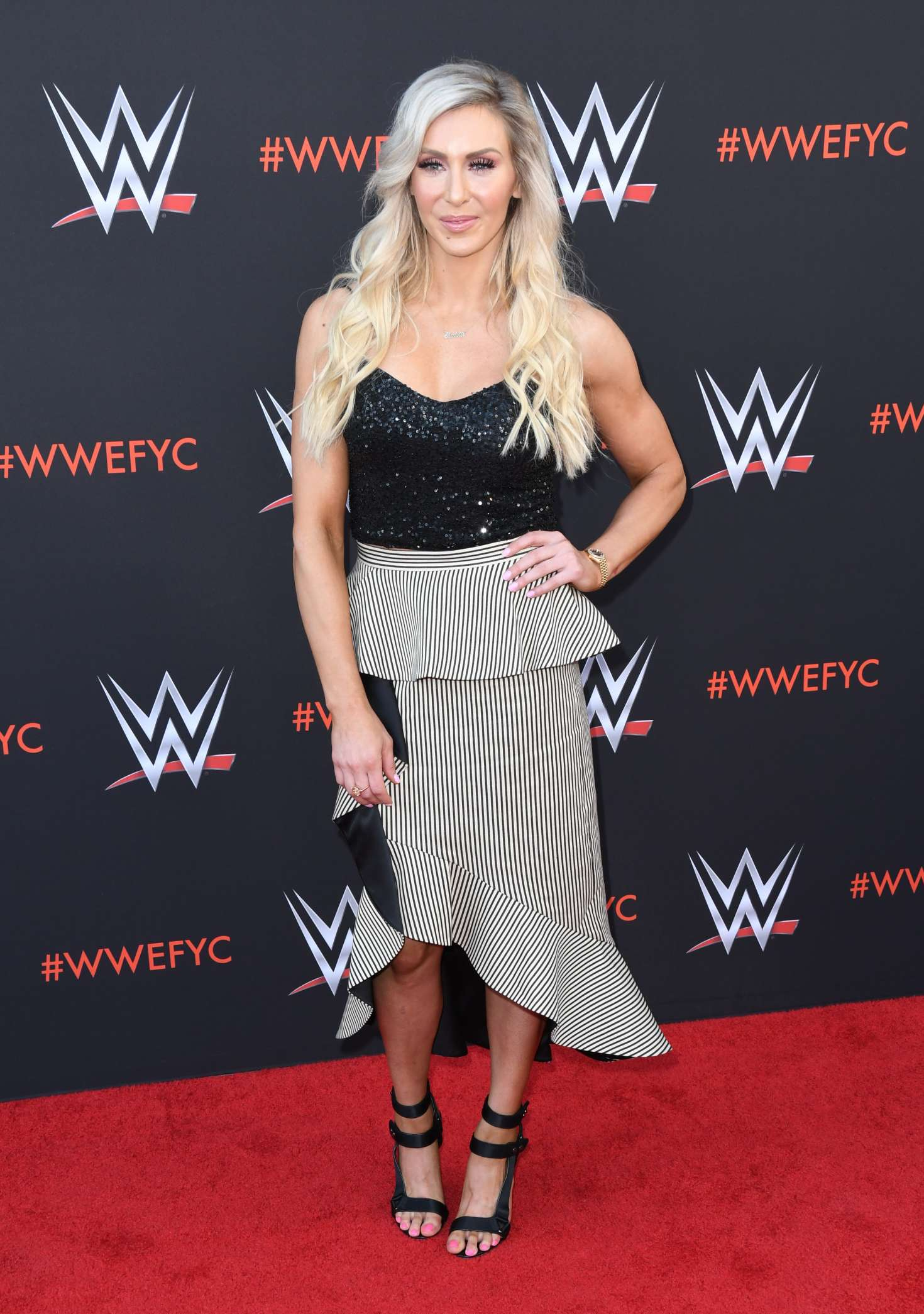 Charlotte Flair - WWE FYC Event in Los Angeles