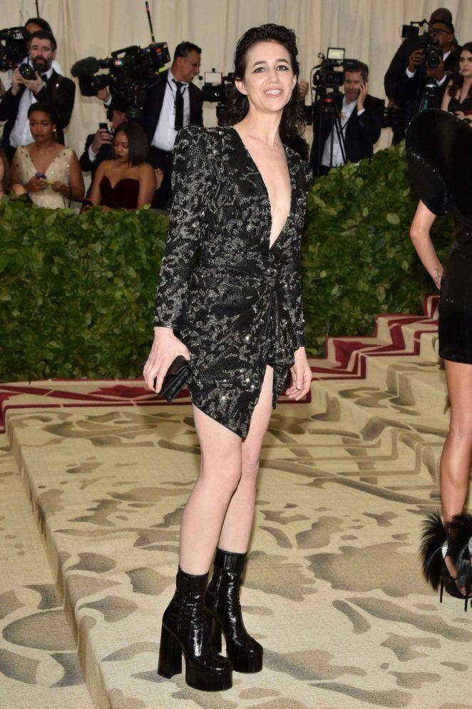 Charlotte Gainsbourg – 2018 MET Costume Institute Gala in NYC