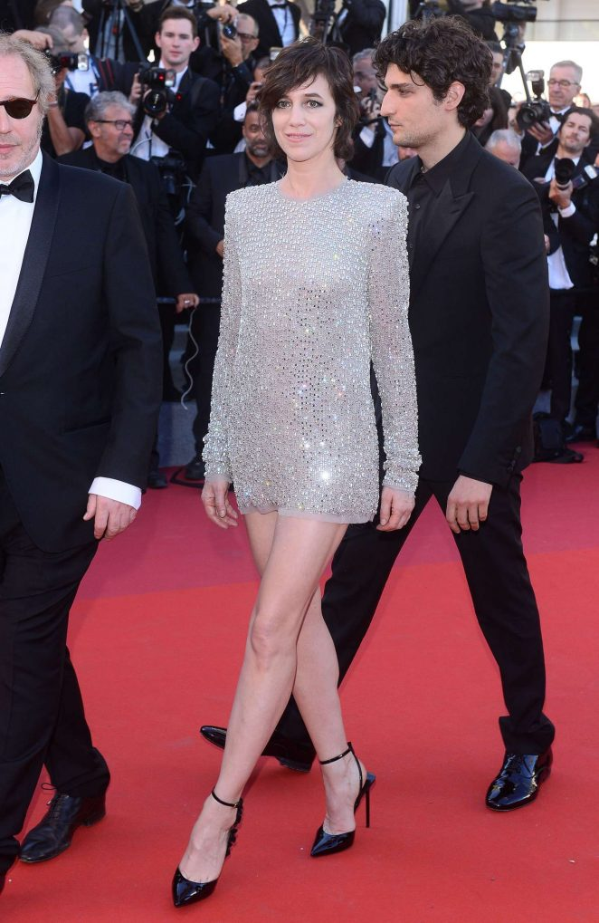 Charlotte Gainsbourg – 'Ismael's Ghosts' Screening at 70th Annual Cannes Film Festival in France