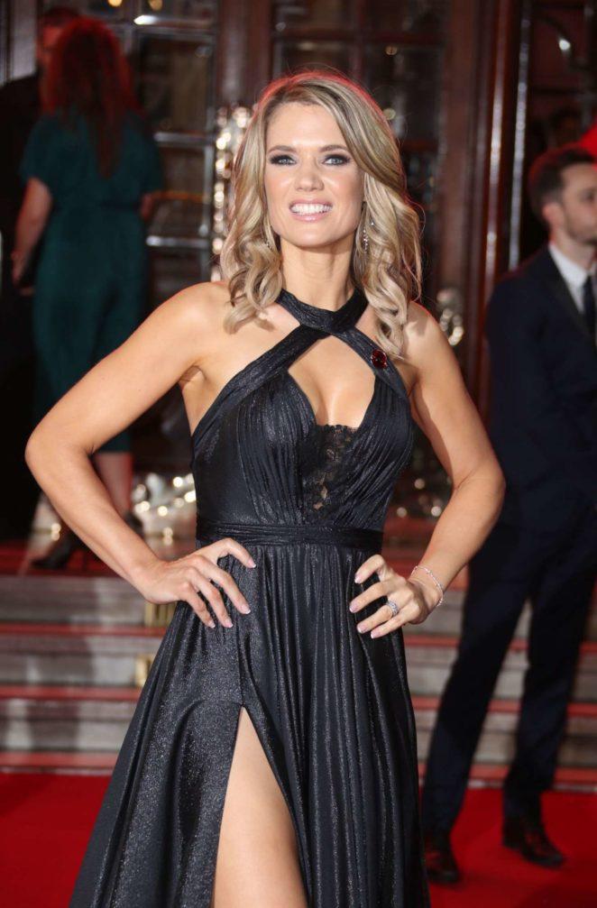 Charlotte Hawkins - 2017 ITV Gala Ball in London