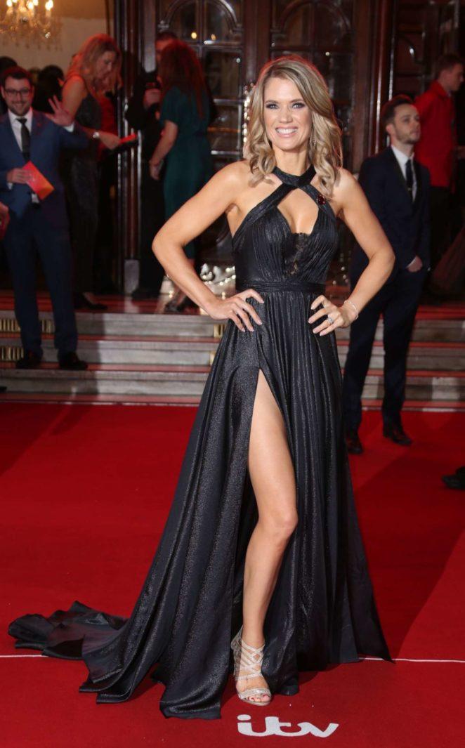 Charlotte Hawkins: 2017 ITV Gala Ball -09
