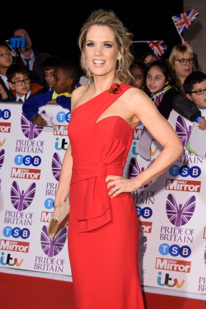 Charlotte Hawkins - 2017 Pride Of Britain Awards in London