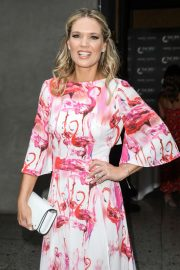Charlotte Hawkins - Arrives at ITV Summer Party 2019 in London