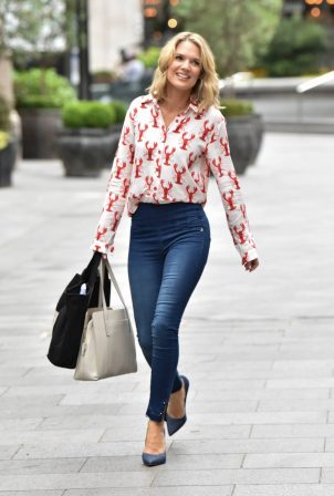 Charlotte Hawkins - Arrives Classic FM in London