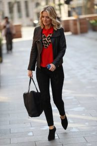 Charlotte Hawkins at Heart Radio in London
