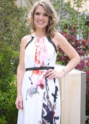 Charlotte Hawkins - Chelsea Flower Show in London