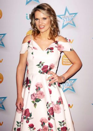 Charlotte Hawkins - 'Good Morning Britain' Health Star Awards in London