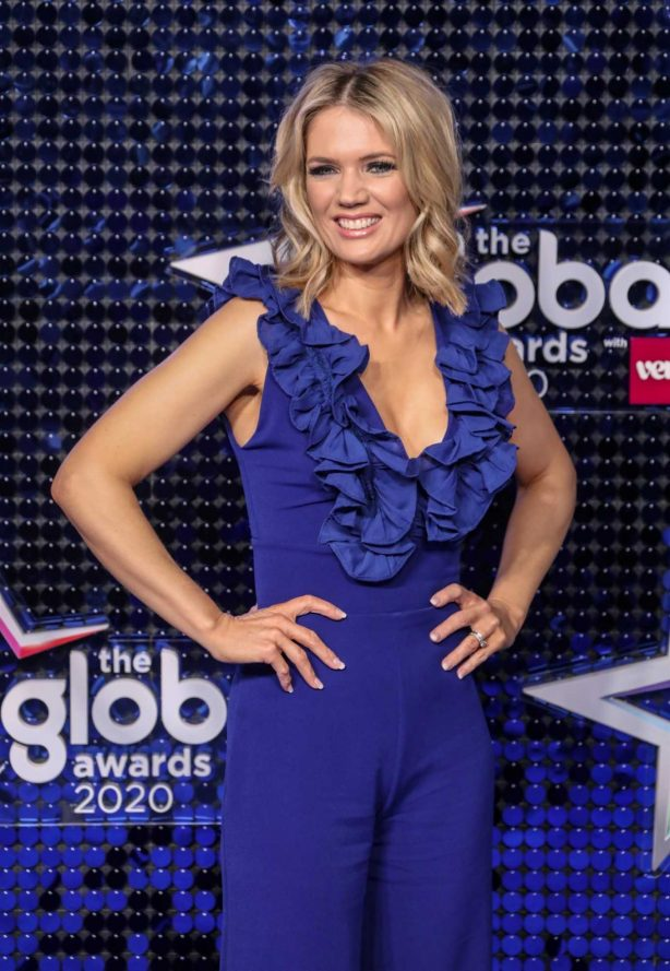Charlotte Hawkins - The Global Awards 2020 in London