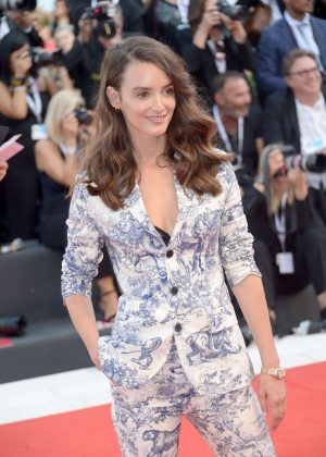 Charlotte Le Bon - 'First Man' Premiere at 2018 Venice International Film Festival in Venice