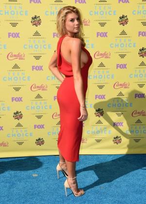 Charlotte McKinney: 2015 Teen Choice Awards in LA-05