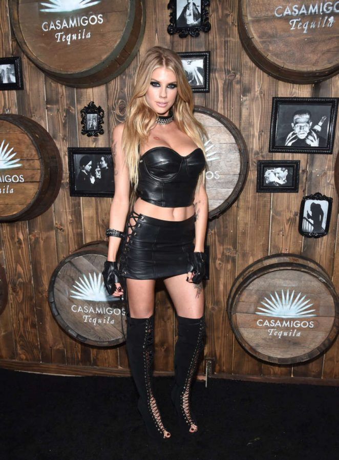 Charlotte McKinney - 2016 Casamigos Tequila Halloween Party in Beverly Hills