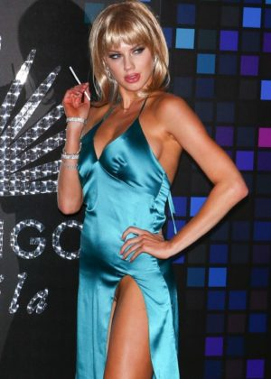 Charlotte Mckinney - 2017 Tequila Casamigos Annual Halloween Bash in LA