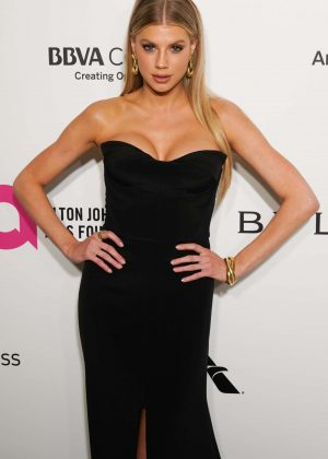 Charlotte Mckinney - 2018 Elton John AIDS Foundation's Oscar Viewing Party in West Hollywood