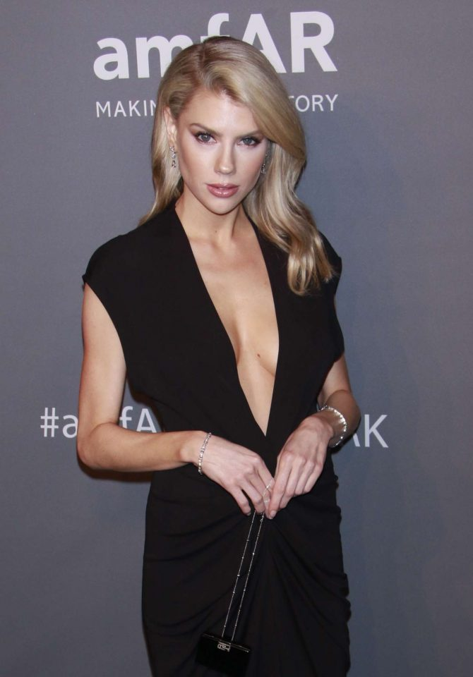Charlotte McKinney – amfAR New York Gala 2019 in NYC