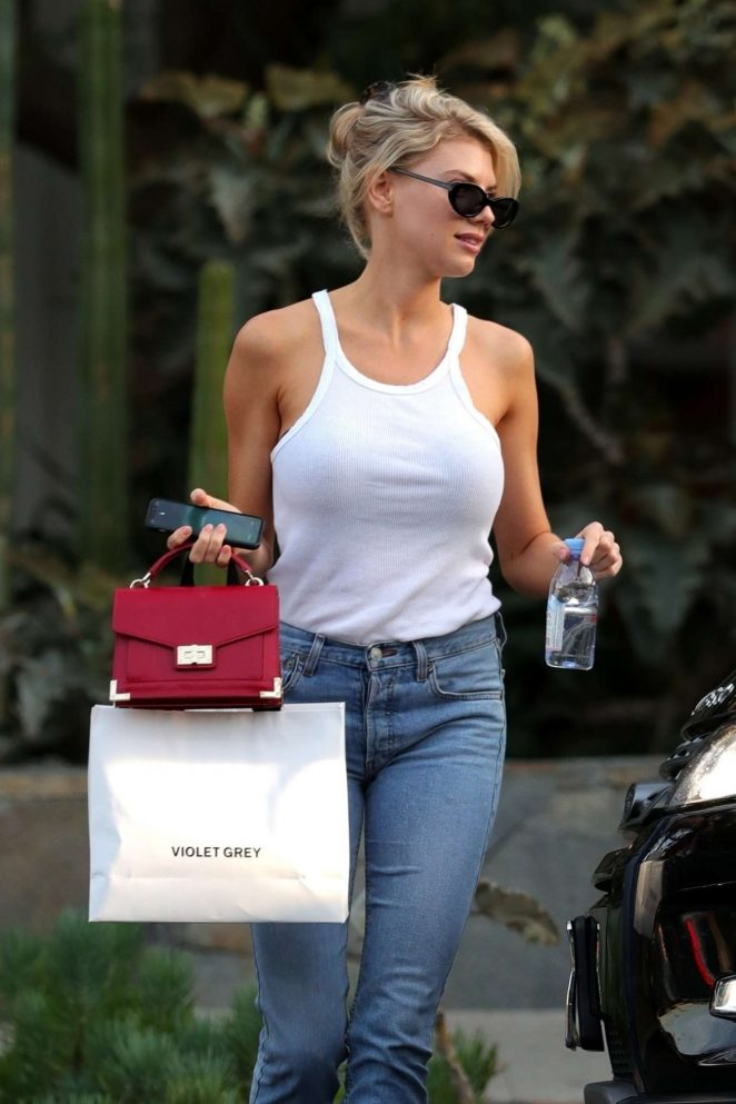 Charlotte McKinney and boyfriend Nathan Kostechko - Shopping in West Hollywood
