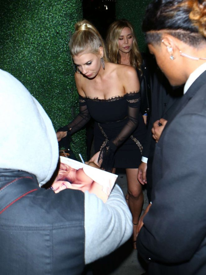 Charlotte McKinney: Arriving at the grand opening of TAO -03