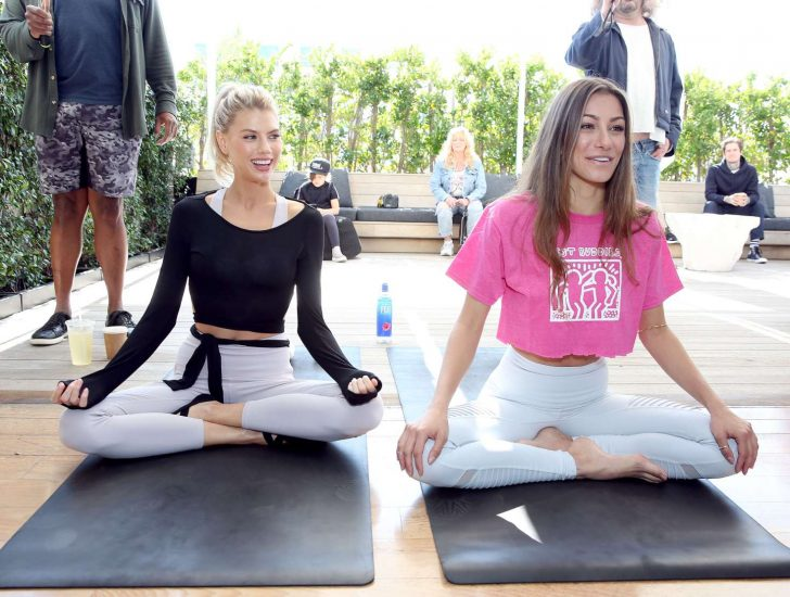 Charlotte McKinney 2019 : Charlotte McKinney at a yoga class -03