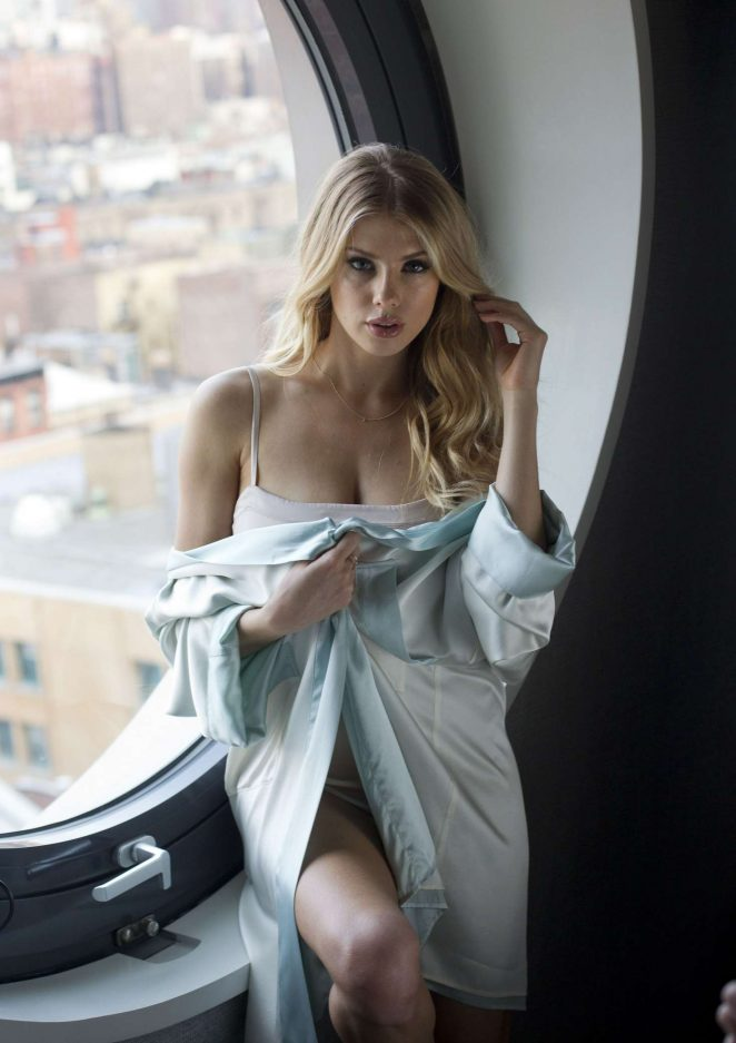 Charlotte McKinney at the Dream Hotel in New York