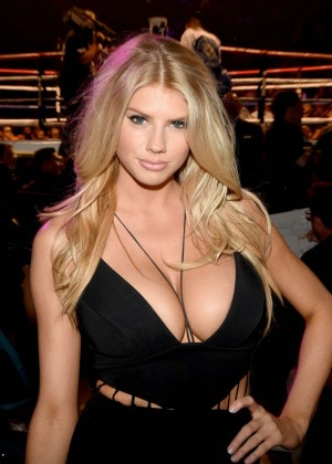 Charlotte McKinney at the Floyd Mayweather vs. Manny Pacquiao Fight
