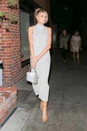 Charlotte McKinney - Attending the Kate Somerville Event in West Hollywood