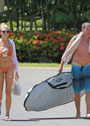 Charlotte Mckinney: Bikini 2016 -04