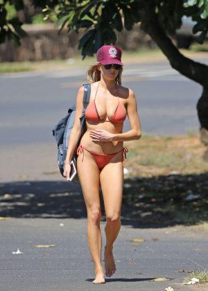 Charlotte Mckinney: Bikini 2016 -20
