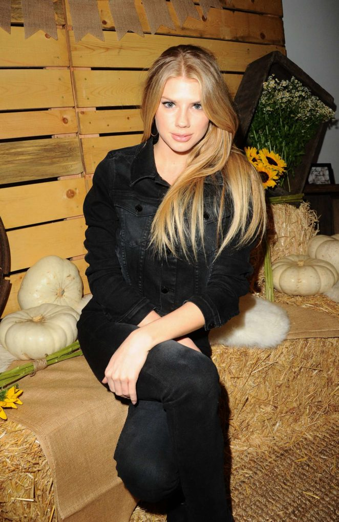Charlotte Mckinney - Bollare Holiday Harvest x Timberland Fall Style Event in Beverly Hills