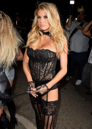 Charlotte McKinney - Casa Tequila Halloween Party in Beverly Hills