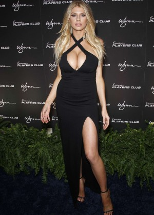 Charlotte McKinney: Encore Players Club Grand Opening -01