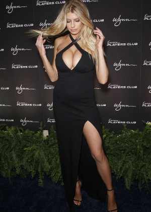 Charlotte McKinney: Encore Players Club Grand Opening -07