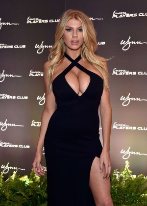 Charlotte McKinney: Encore Players Club Grand Opening -18