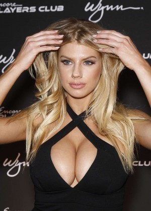 Charlotte McKinney: Encore Players Club Grand Opening -20