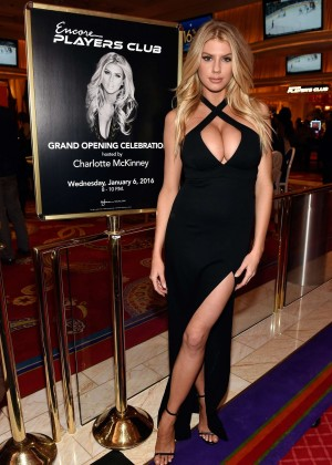 Charlotte McKinney: Encore Players Club Grand Opening -25