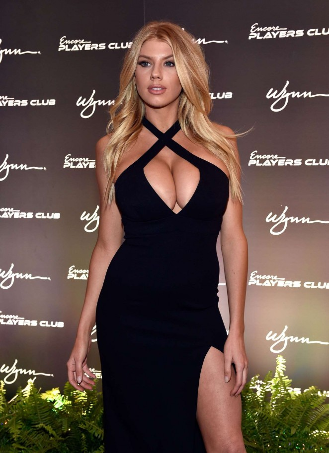 Charlotte McKinney - Encore Player's Club Grand Opening in Las Vegas