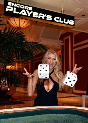 Charlotte McKinney: Encore Players Club Grand Opening -29