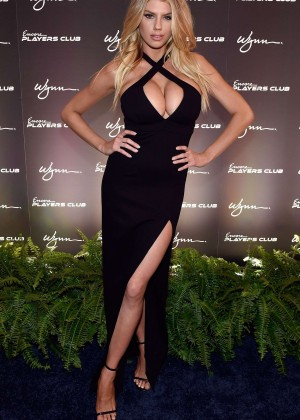 Charlotte McKinney: Encore Players Club Grand Opening -30
