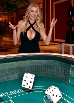 Charlotte McKinney: Encore Players Club Grand Opening -31