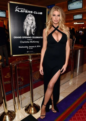 Charlotte McKinney: Encore Players Club Grand Opening -32