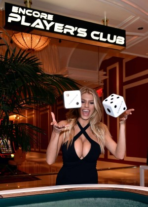 Charlotte McKinney: Encore Players Club Grand Opening -38