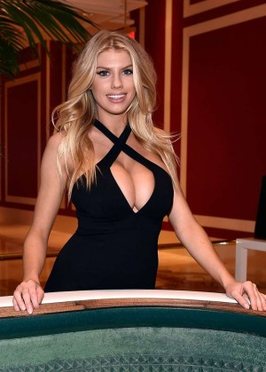 Charlotte McKinney: Encore Players Club Grand Opening -43