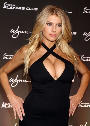 Charlotte McKinney: Encore Players Club Grand Opening -47