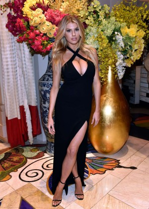 Charlotte McKinney: Encore Players Club Grand Opening -48