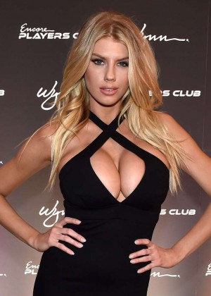 Charlotte McKinney: Encore Players Club Grand Opening -50