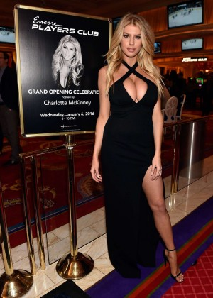 Charlotte McKinney: Encore Players Club Grand Opening -53