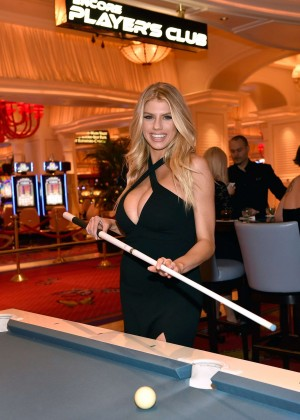 Charlotte McKinney: Encore Players Club Grand Opening -57