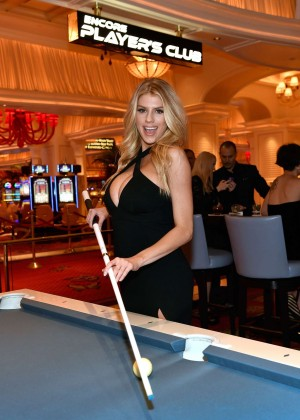 Charlotte McKinney: Encore Players Club Grand Opening -59
