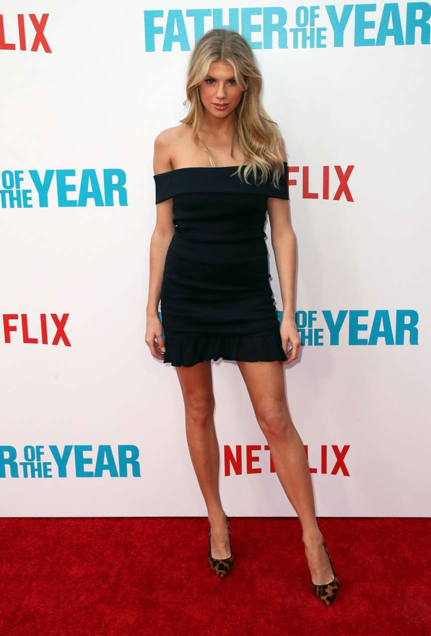 Charlotte McKinney – 'Father of the Year' Screening in Hollywood