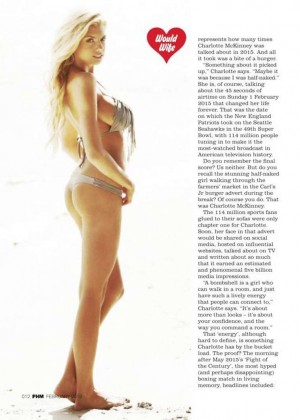 Charlotte McKinney - FHM UK 2016 -04